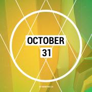 October 31