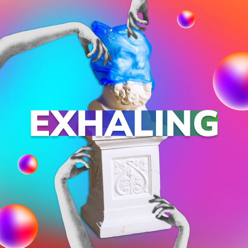 Exhaling